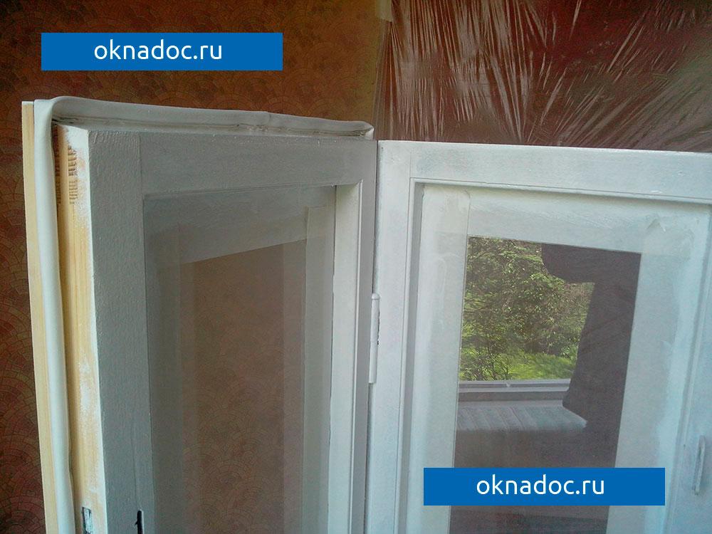 фото - после покраски окон от компании ОкнаДок
